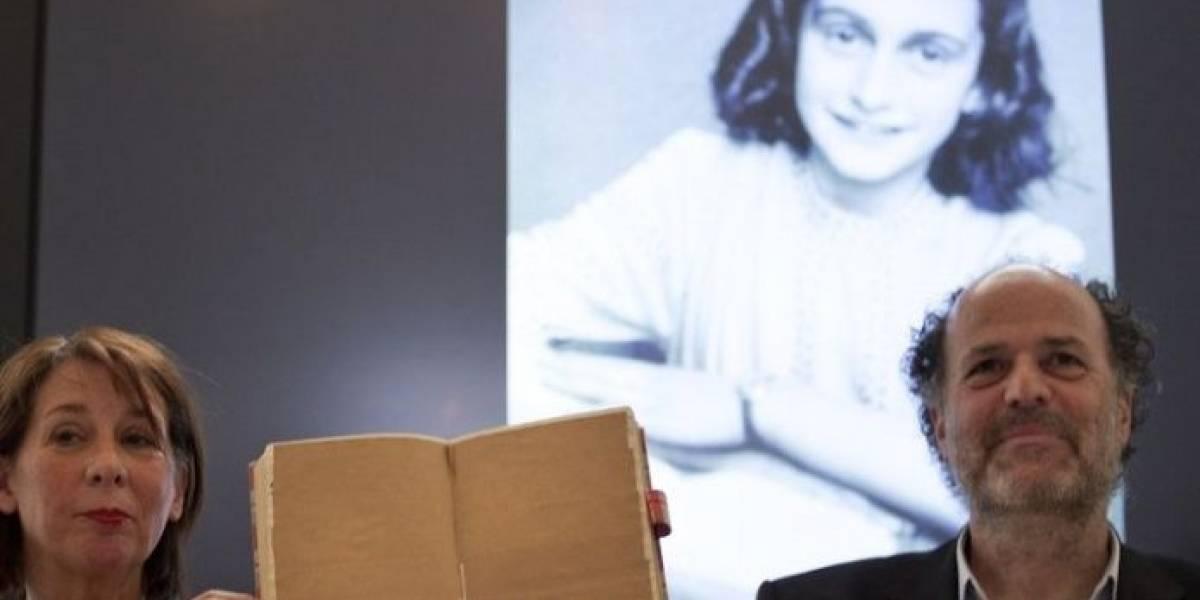 Ana Frank nos sigue sorprendiendo:  Revelan dos páginas ocultas de su diario