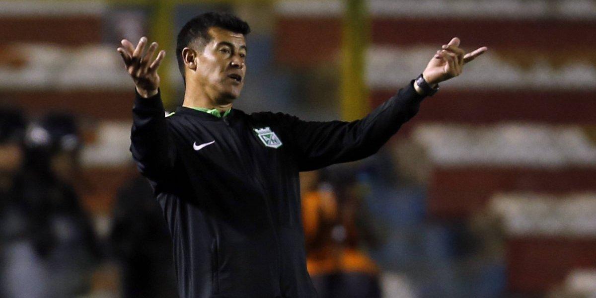 """DT de Atlético Nacional le mete miedo a Colo Colo: """"Vamos a clasificar, no tengo duda de esto"""""""