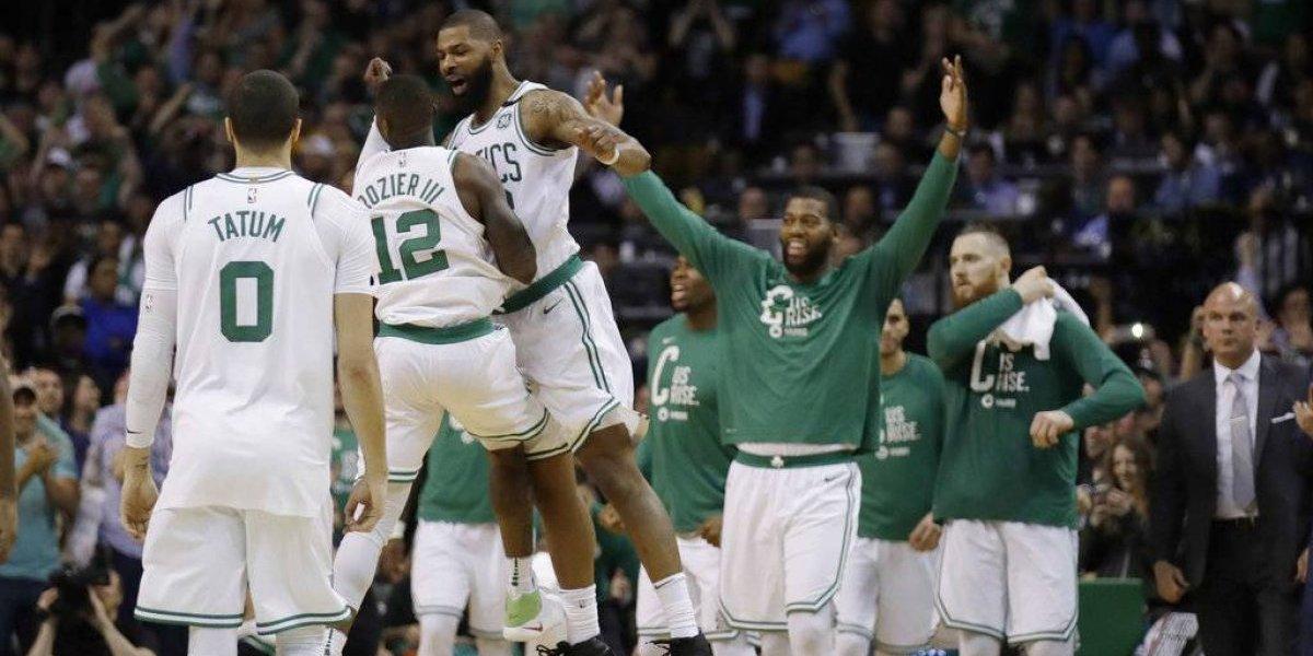 Celtics sobreviven a gran noche de LeBron