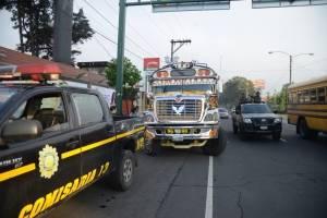 ataque contra bus en bulevar Los Próceres