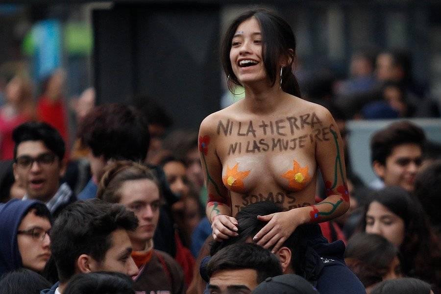 Marcha feminista estudiantil