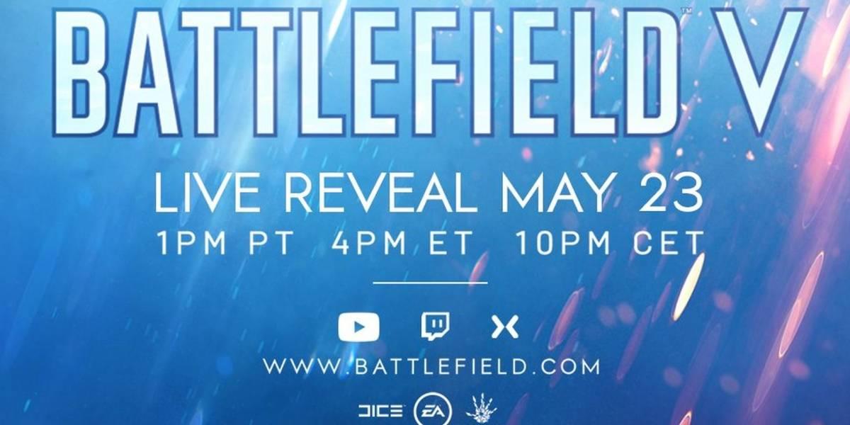 EA confirma que Battlefield V será presentado la próxima semana