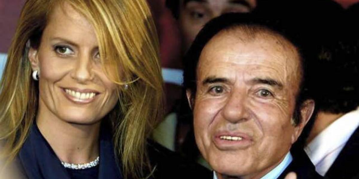 Cecilia Bolocco es atacada por Carlos Menem en Twitter