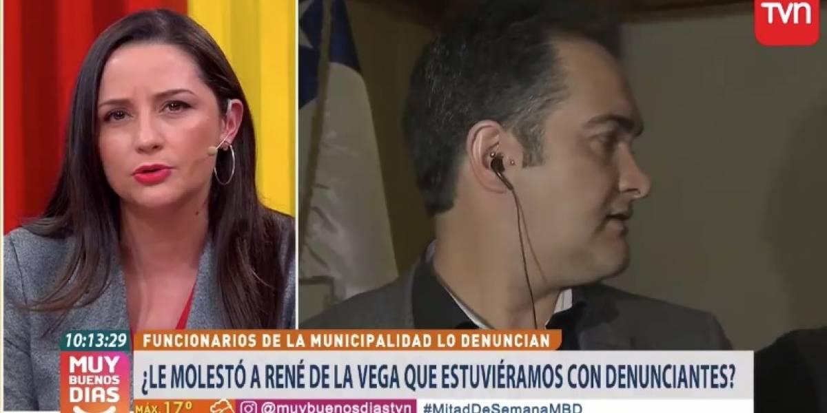 """""""Tiene que entender que ya no es una figura de la farándula"""": El enojo de Andrea Arístegui y el """"Muy Buenos Días"""" con René de La Vega"""