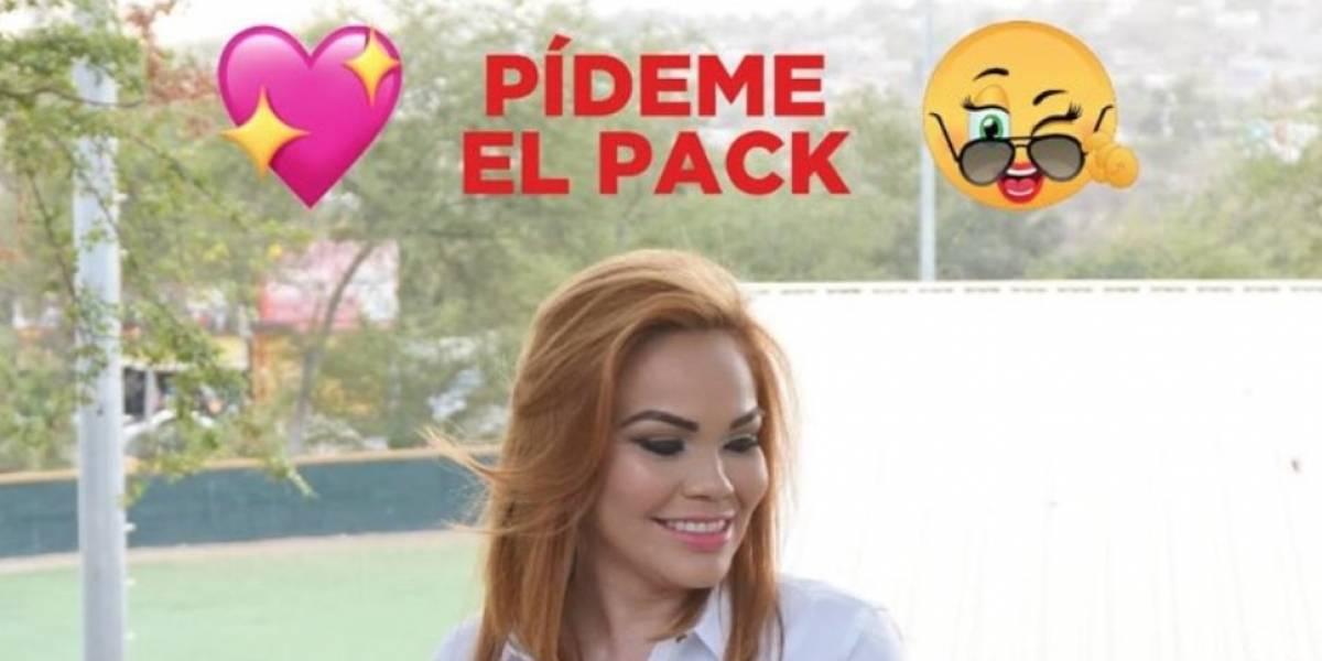 """Candidata mexicana ofreció su """"pack"""" en Facebook a cambio de votos... pero hay truco"""