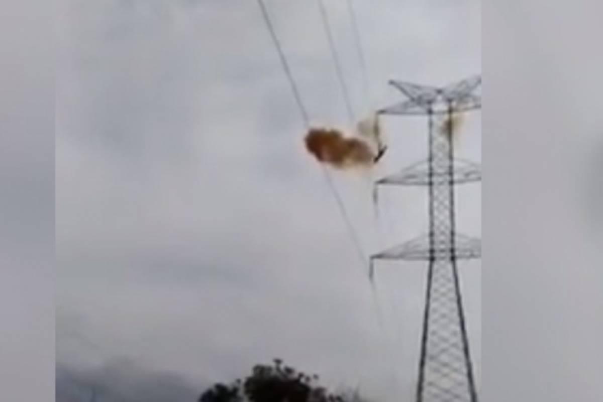 Joven Muere Electrocutado al Bajar una Torre de Alta Tensión