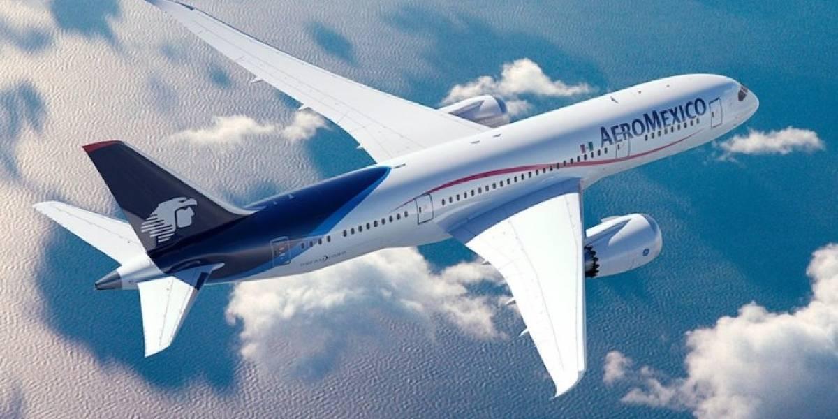 Aeroméxico cancela plan de volar a Barcelona