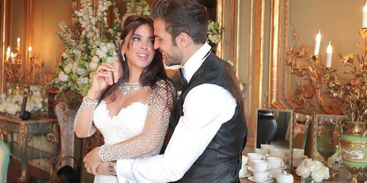 FOTOS: Así fue la boda de Cesc Fábregas con Daniella Semaan en Inglaterra