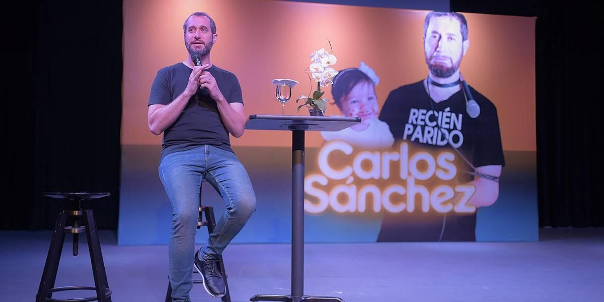"""Carlos Sánchez anunció funciones extras show """"Recién Parido"""""""