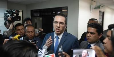 diputado Felipe Alejos presenta denuncias