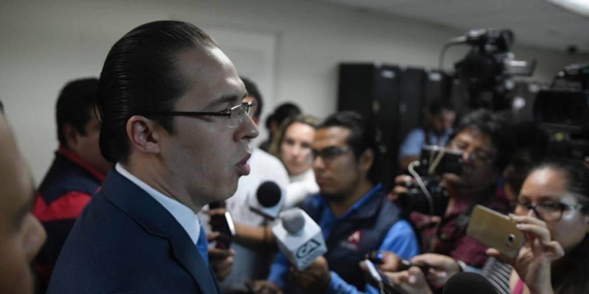 """Diputado Felipe Alejos denuncia ante la CIDH """"violaciones a sus derechos humanos"""""""
