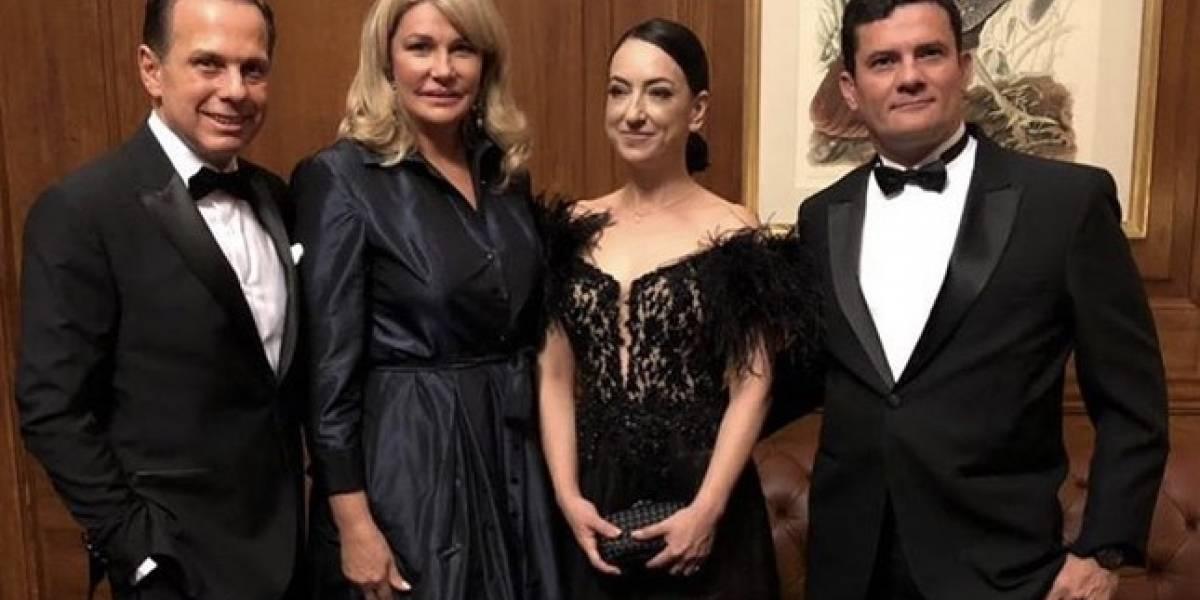 Sérgio Moro recebe o prêmio Personalidade do Ano
