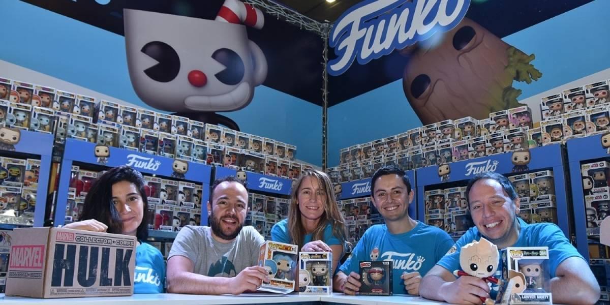 Chile, país de Funko: agotaron colecciones en la Comic Con