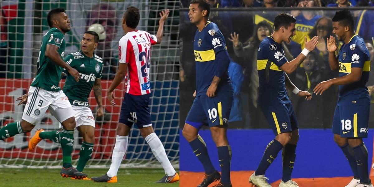 Los colombianos fueron los verdugos del Junior en Copa Libertadores