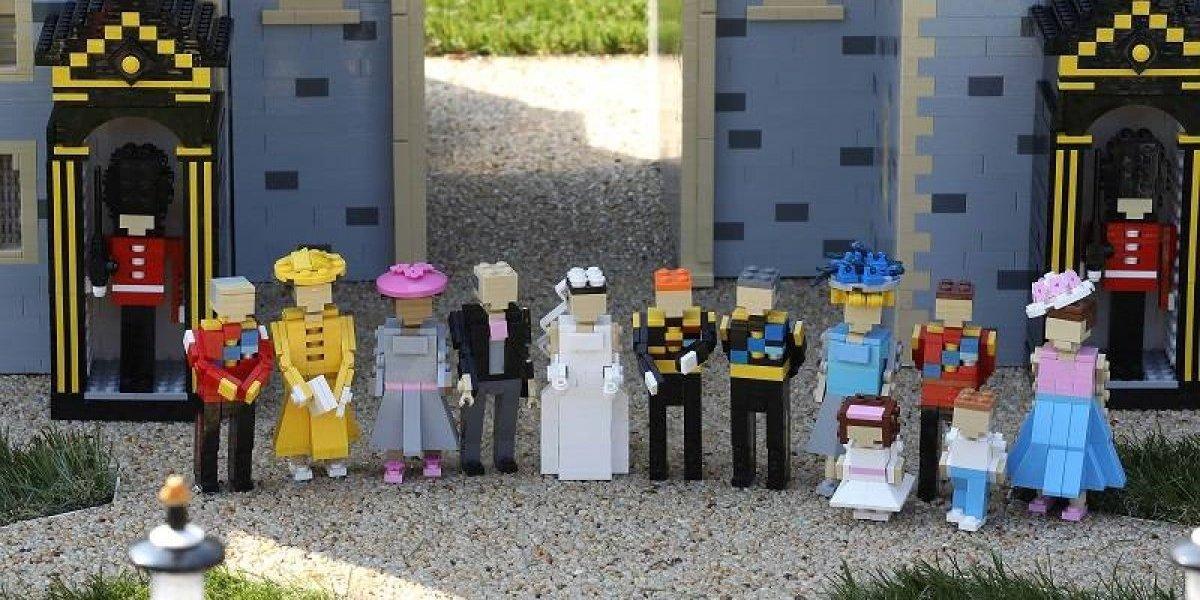 La Boda Real se convirtió en Lego
