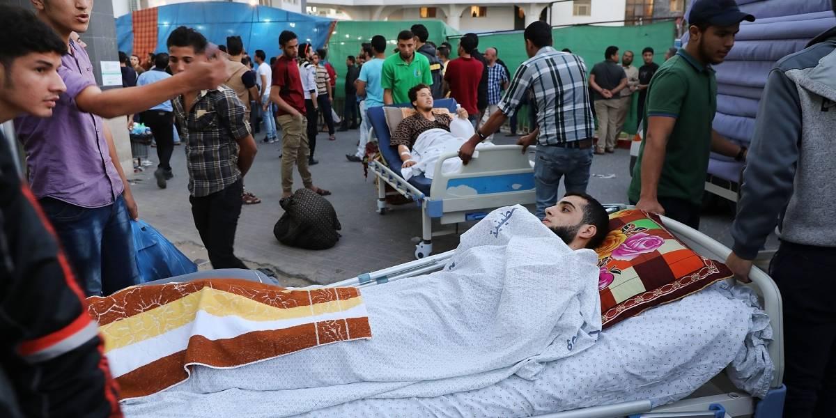 """""""¡Su pierna se pudrirá!"""": Baño de sangre deja a Gaza colapsada con hospitales desbordados y sin medicinas"""