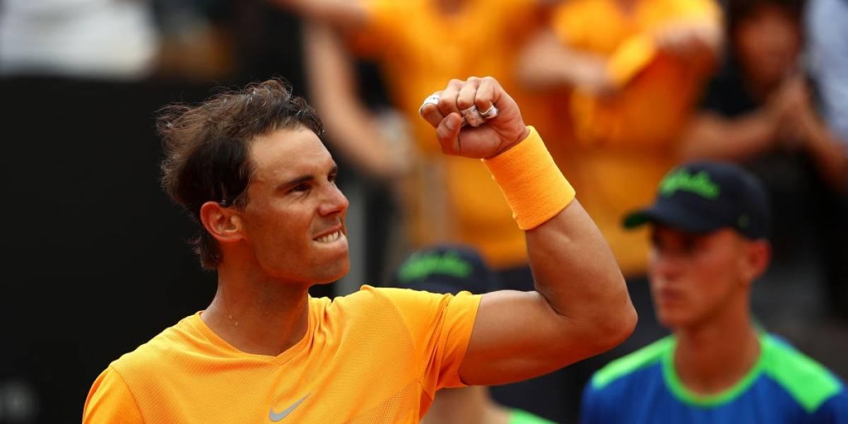 Nadal y Djokovic arrasan con sus rivales en el Masters 1.000 de Roma