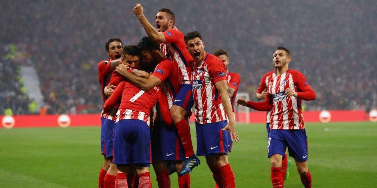 Ya es un gigante: Atlético de Madrid es campeón de la Europa League por tercera vez en ocho años