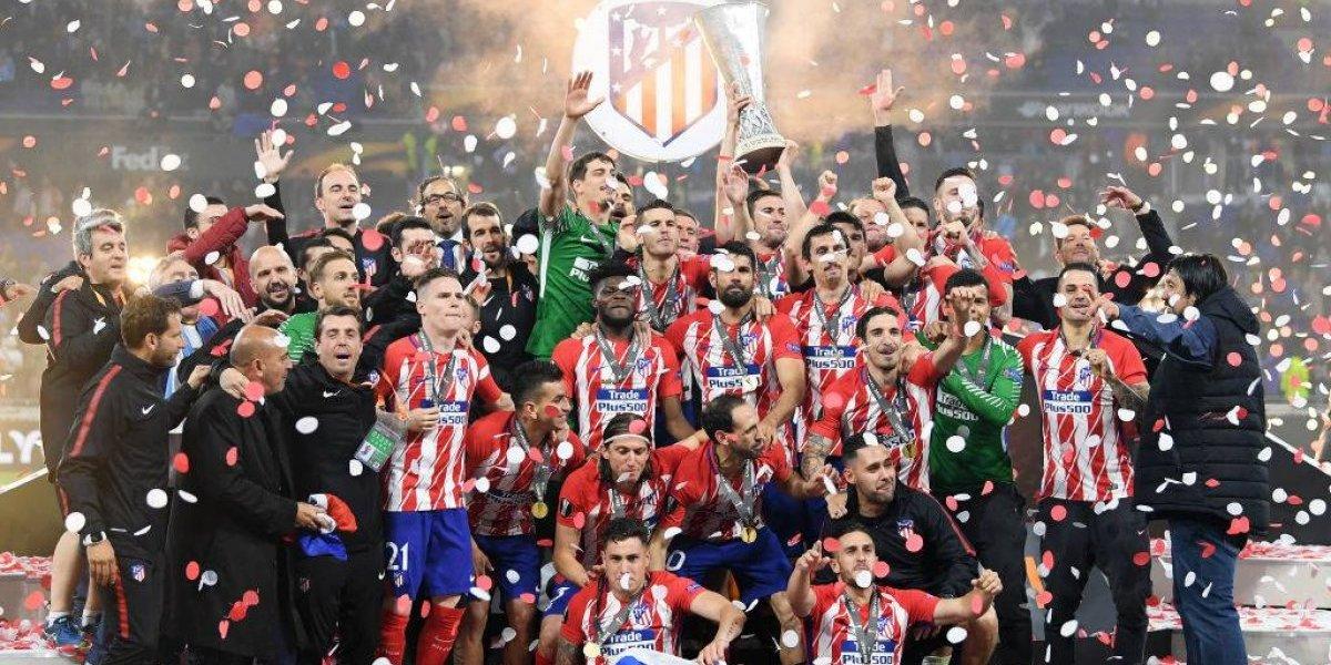 ¡Tres veces campeón! El Atlético de Madrid golea y conquista la Europa League