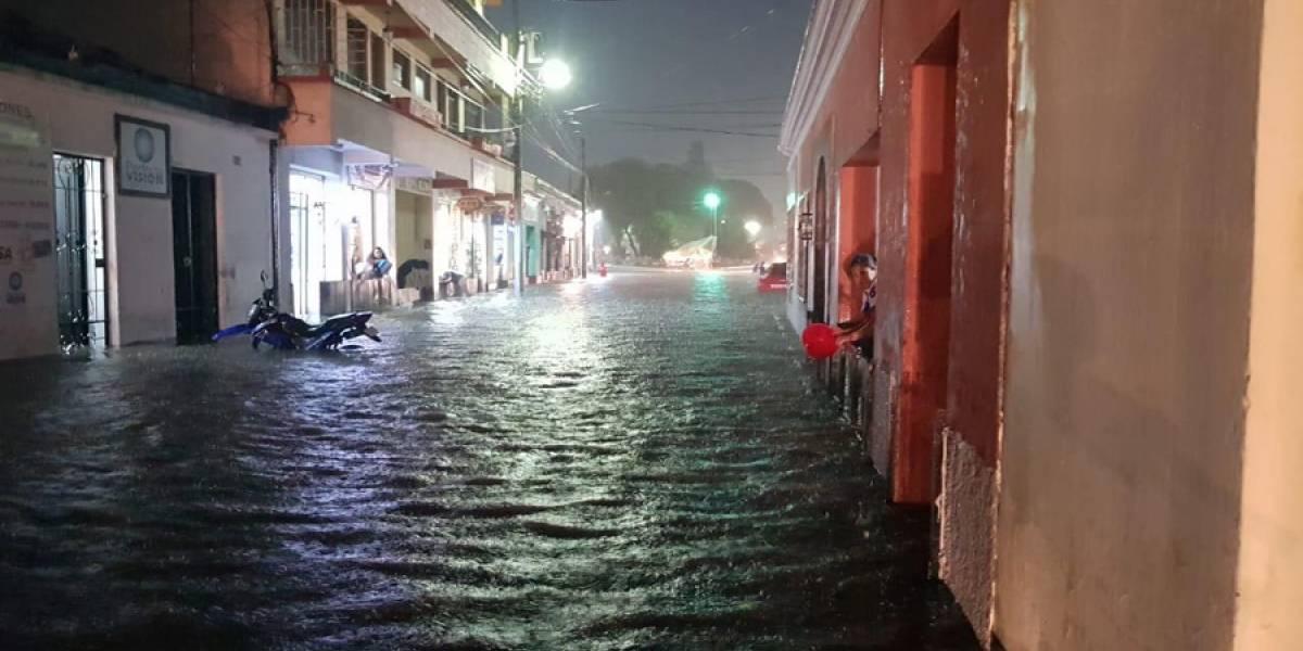 EN IMÁGENES. Fuertes lluvias causan destrozos en el occidente del país
