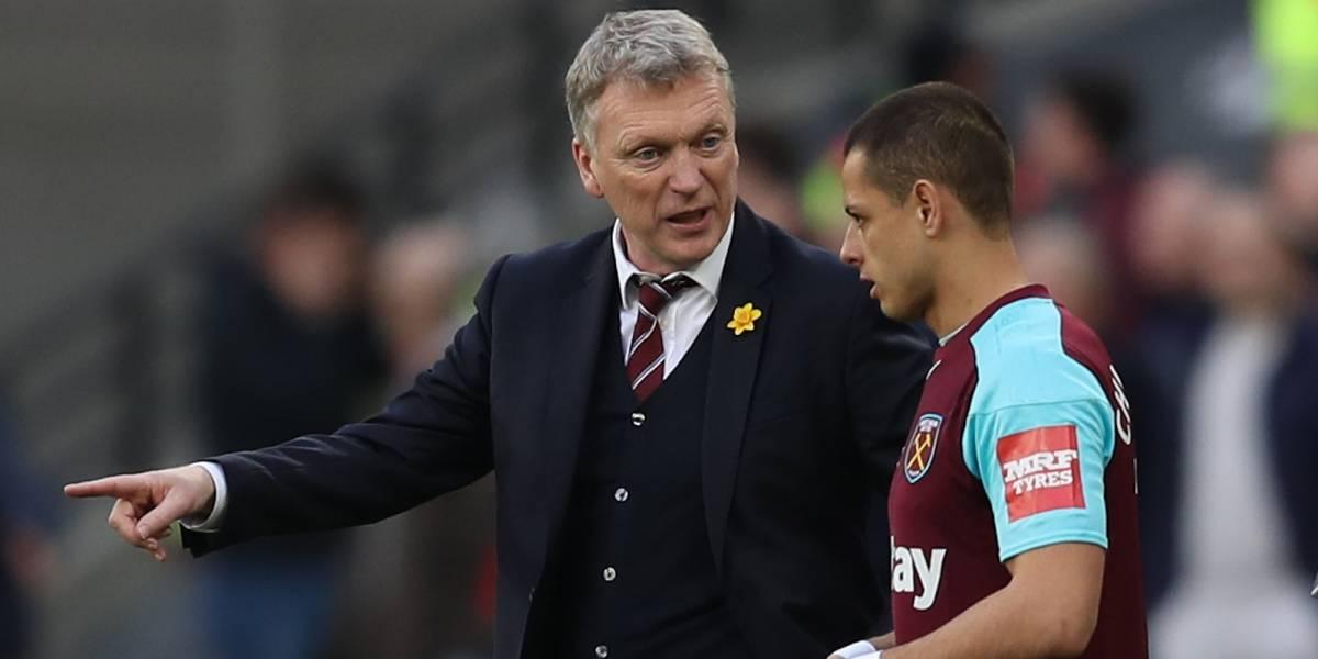 'Chicharito' ya podrá sonreír con salida de David Moyes del West Ham