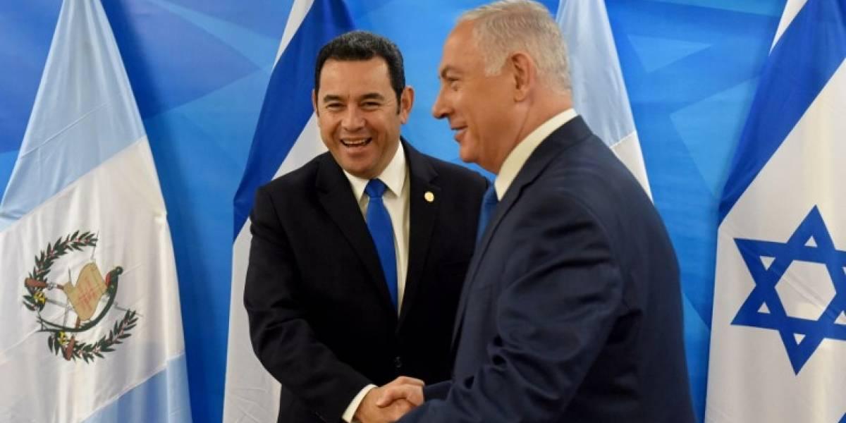 VIDEO. Así es la embajada de Guatemala inaugurada en Jerusalén