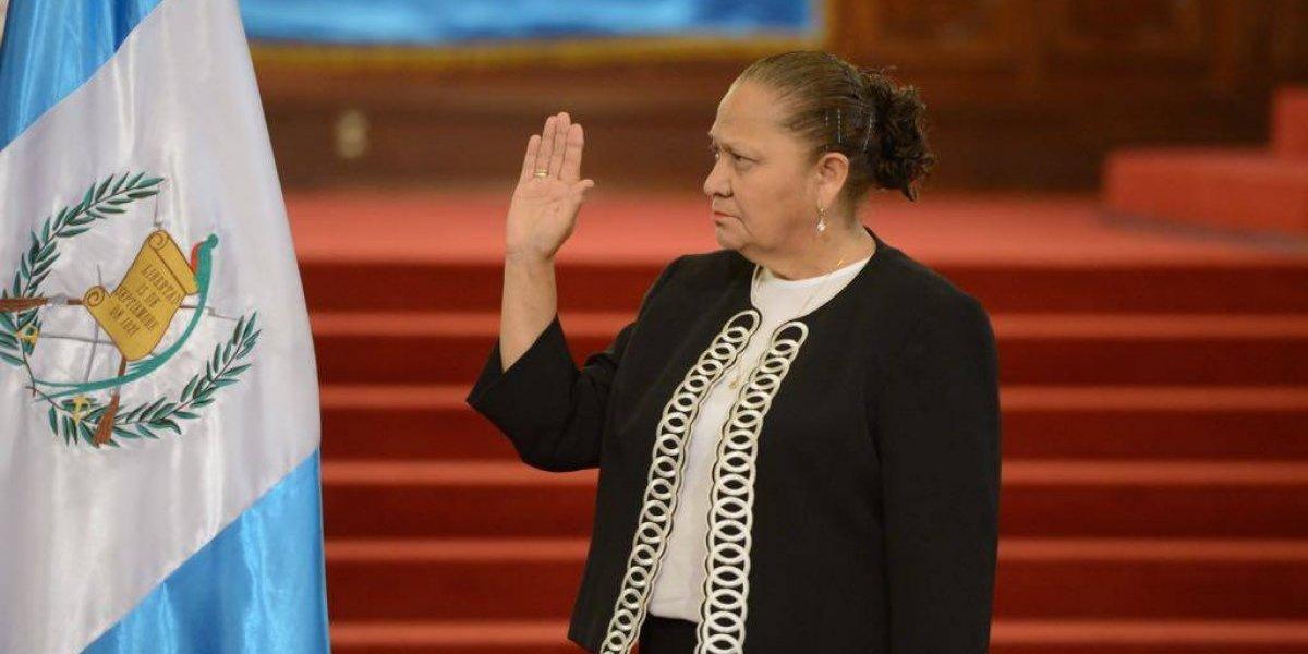 Consuelo Porras es juramentada como fiscal general y jefa del Ministerio Público