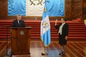 juramentación de Consuelo Porras como fiscal general