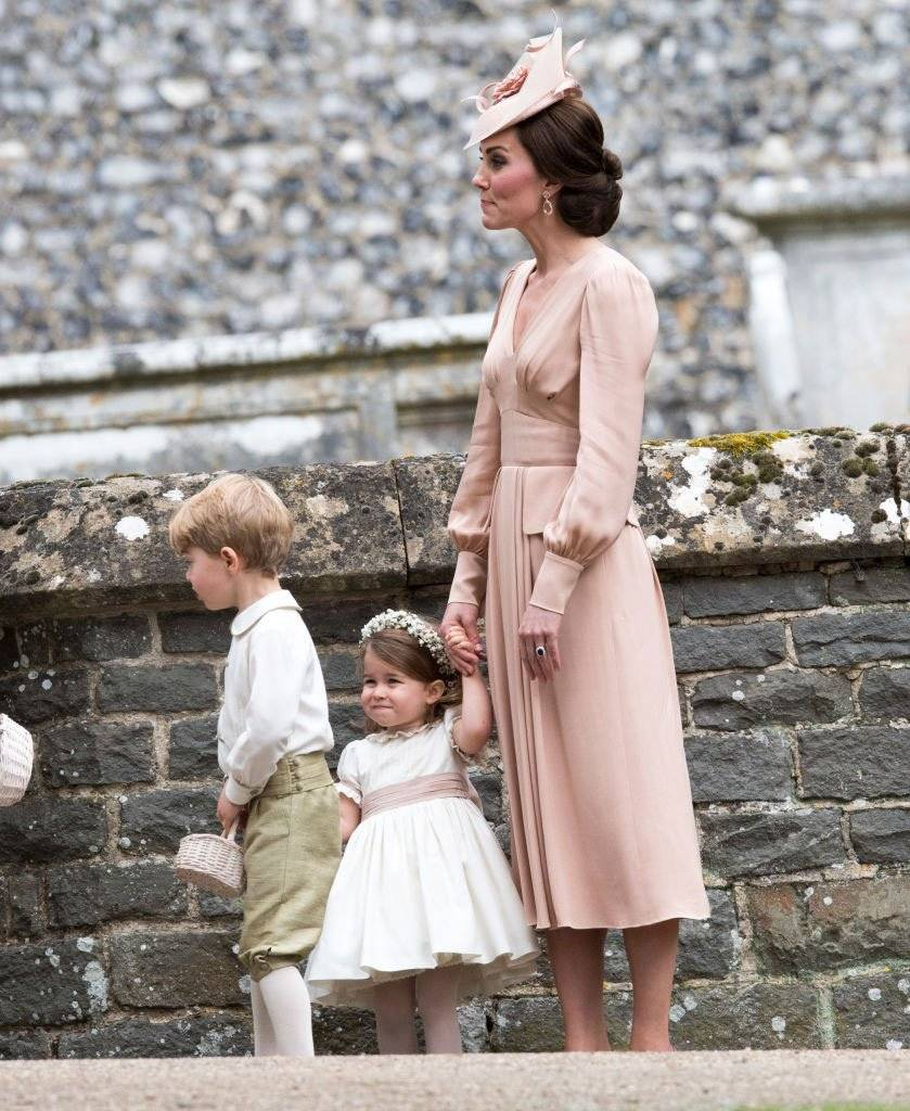 Kate Middleton, George e Charlotte
