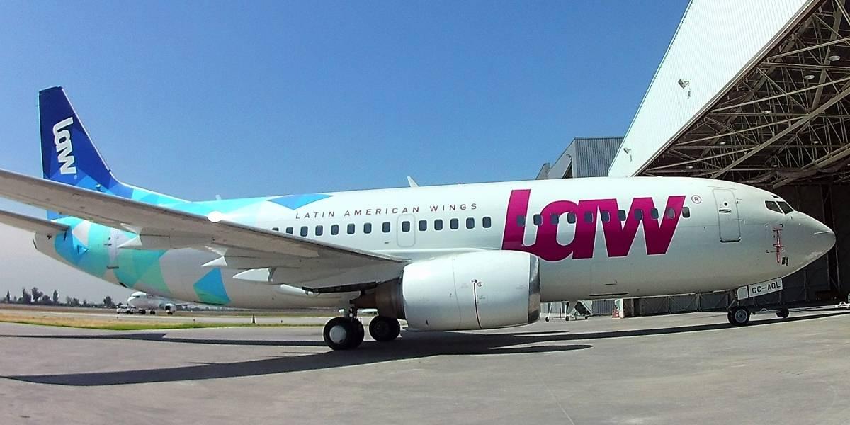 Se profundiza la crisis de LAW: tribunal ordena retención de cinco de sus aviones