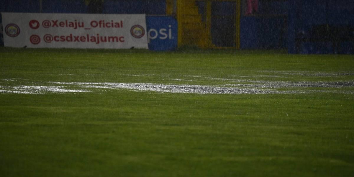El partido entre Xelajú MC y Sanarate suspendido hoy se jugará en este día y hora