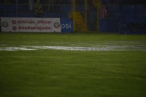 Gramilla del estadio Mario Camposeco