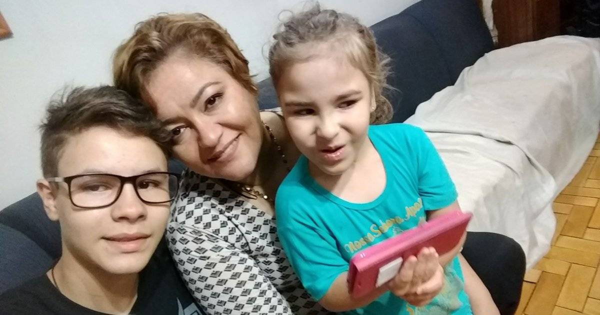 Marcelo, Eliete e Beatriz