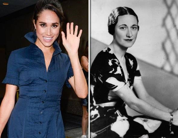 meghan markle wallis simpson