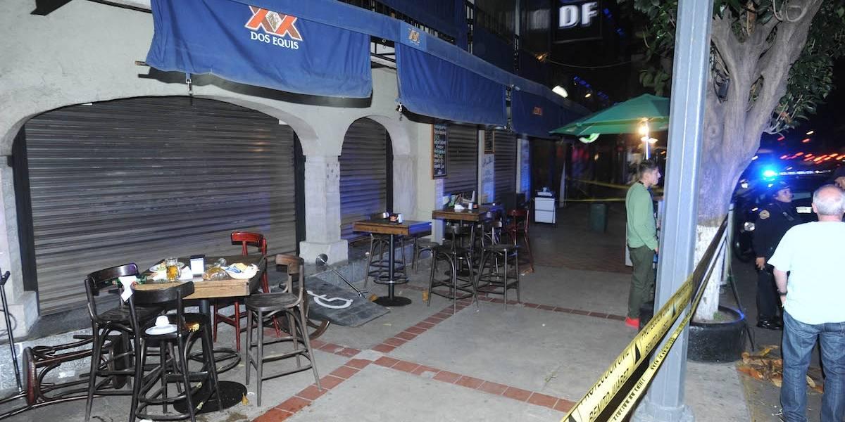 Fallece hombre baleado en restaurante de la Benito Juárez