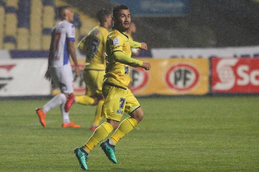 Jean Meneses es el goleador de la U de Concepción en lo que va del Campeonato Nacional 2018 con 6 goles / Foto: Photosport