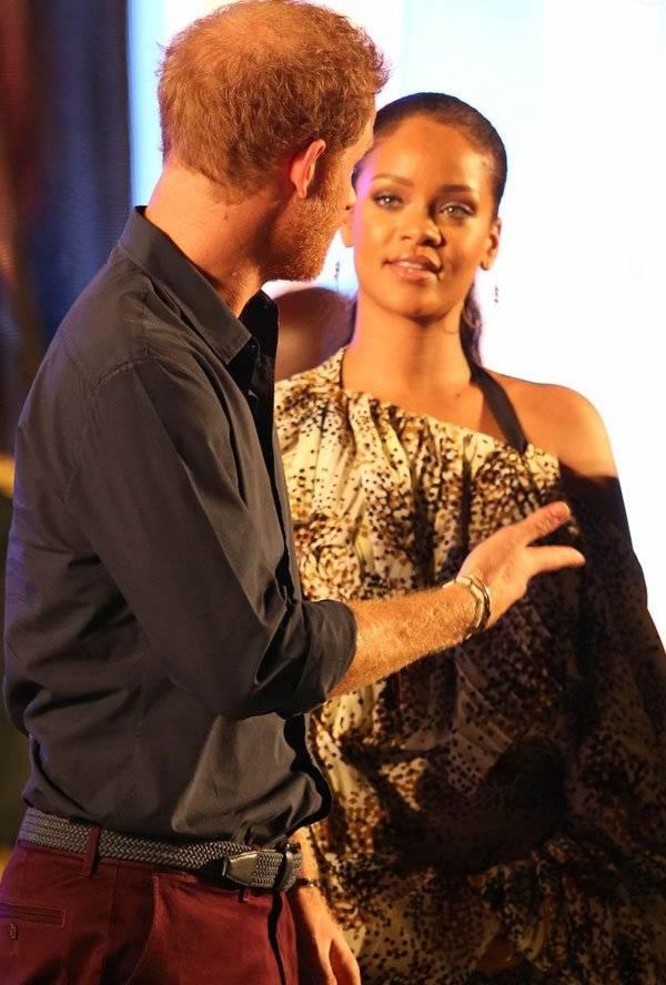 Rihanna Príncipe Harry