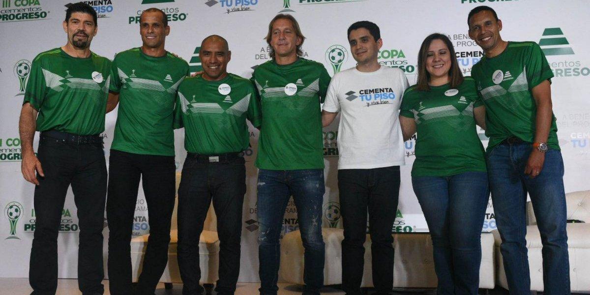 """Rivaldo y Salgado prometen """"emociones"""" en su próximo partido en Guatemala"""