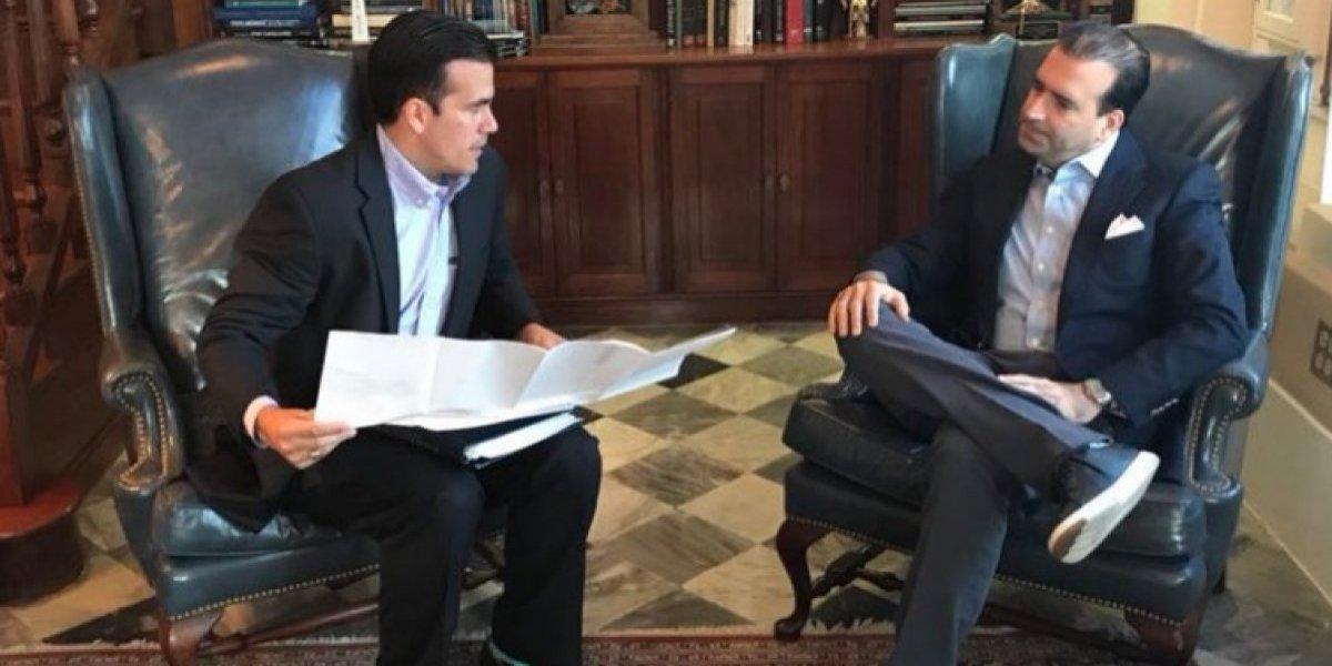 Gobernador presenta borrador de presupuesto revisado a la JSF