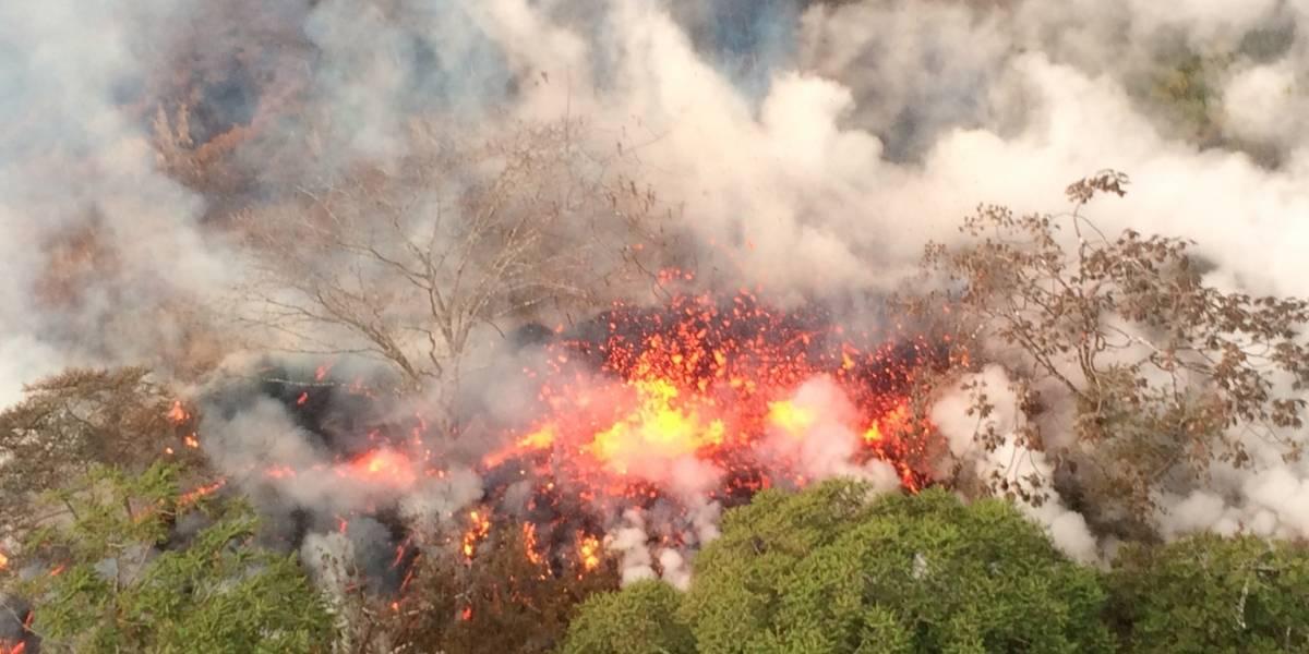 Cuando la lava fluye en Hawái, se oye el nombre de Pele