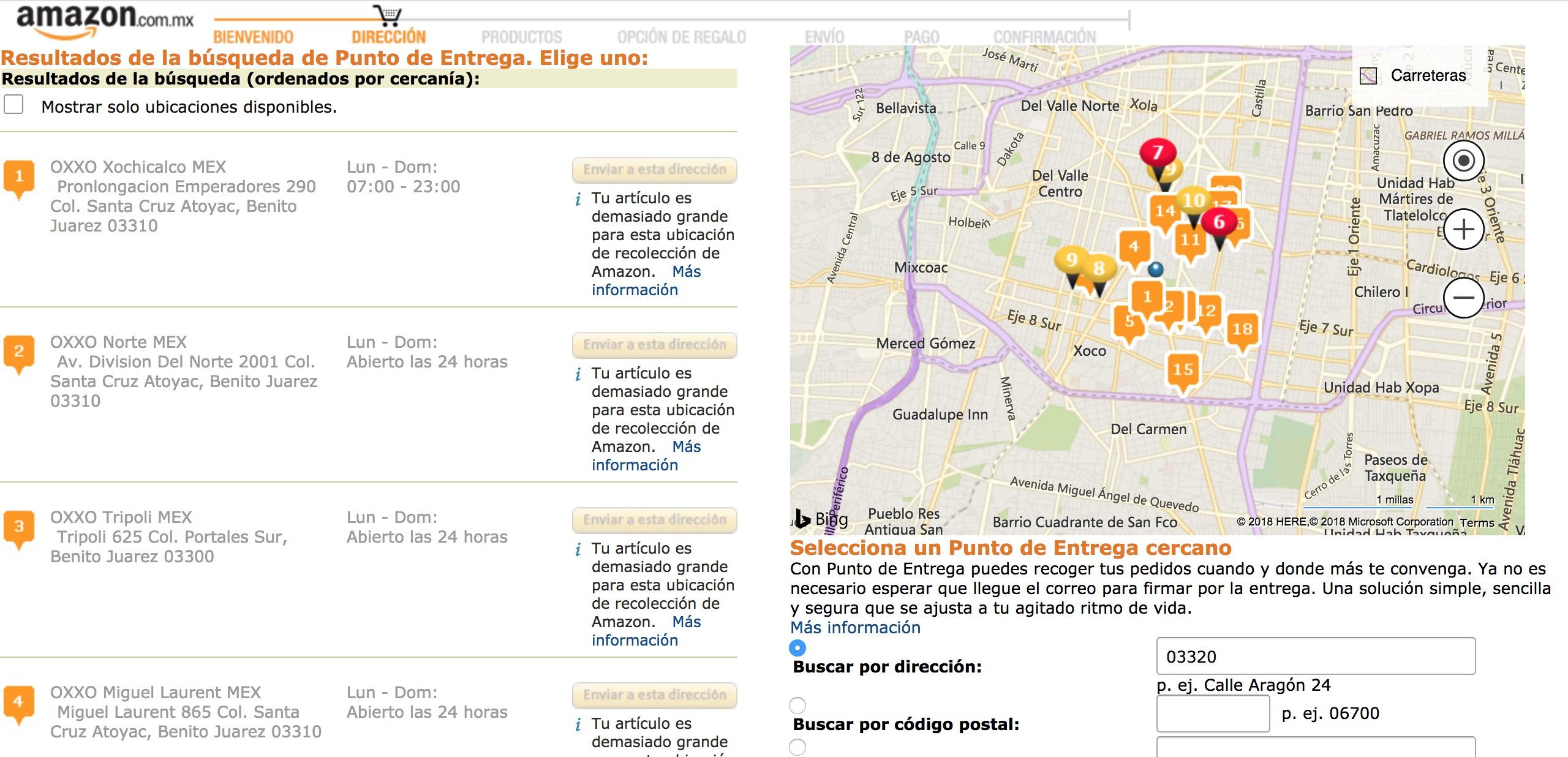 México: Así funcionaran las entregas de Amazon en Oxxo