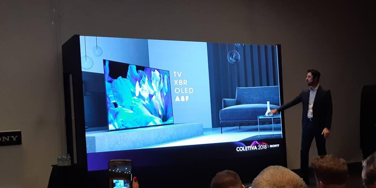 Sony apresenta nova linha de TVs para a Copa do Mundo