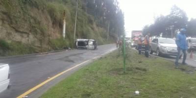 Accidente Av. Simón Bolívar