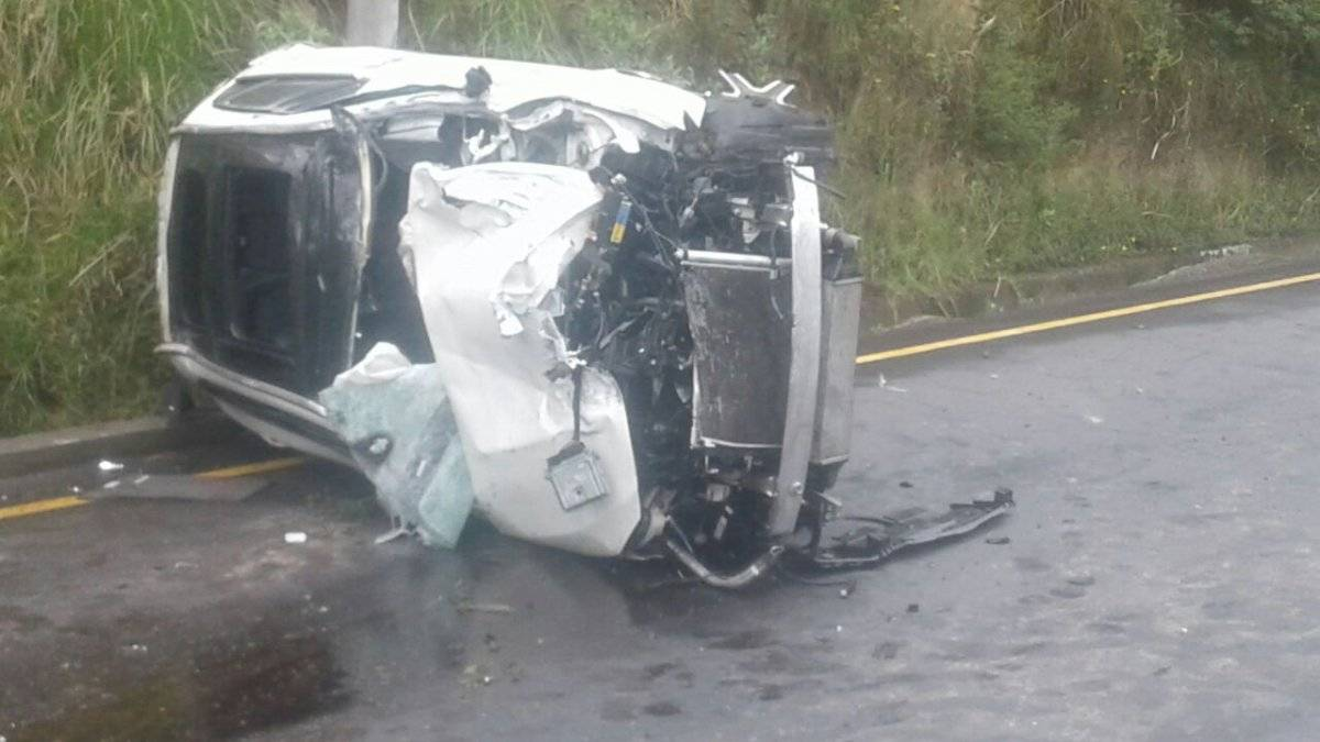 Accidente de tránsito Simón Bolívar