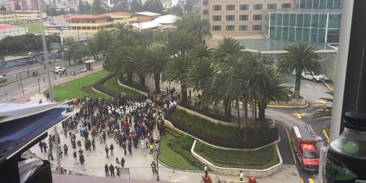 Amenaza de bomba en el hotel J.W. Marriott en Quito
