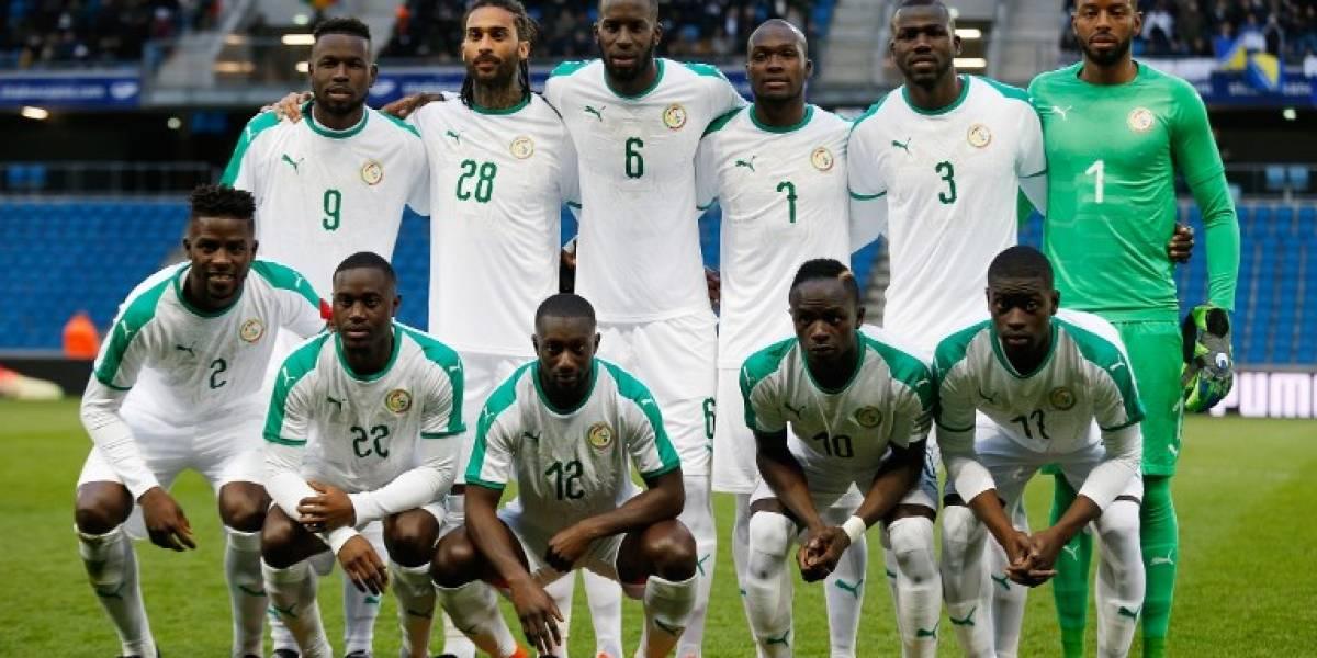 Lista oficial de Senegal para el Mundial Rusia 2018