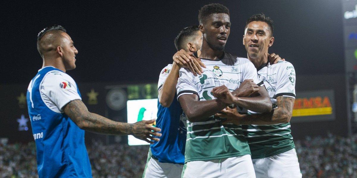Santos vence 2-1 al Toluca en el juego de ida de la final del Clausura 2018