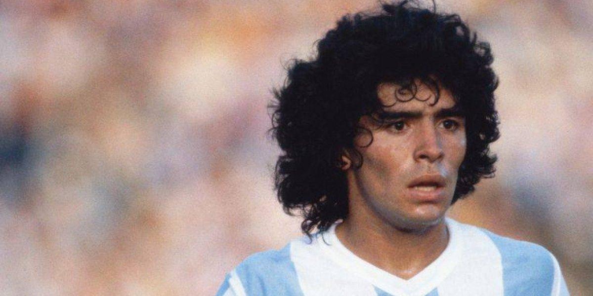 ¡Una más! Maradona tendrá su controversial bioserie