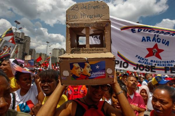 Cierre de campaña de Nicolás Maduro