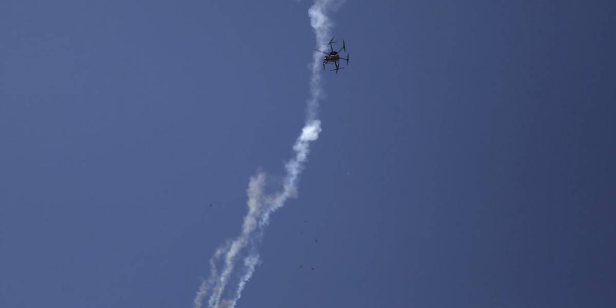 Aviones de Israel bombardean franja de Gaza y se mantiene la tensión en la zona